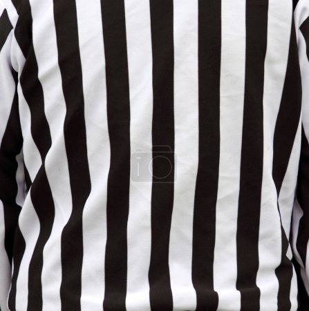 Official referee shirt stripes