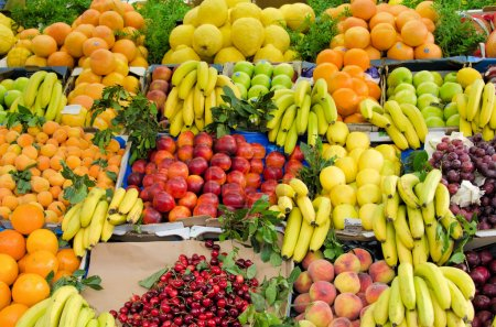 The fruit on the market