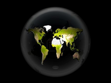Earth in a bubble