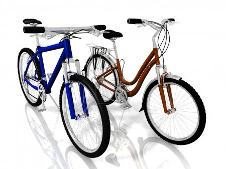 Photo for Two bicycles - Royalty Free Image
