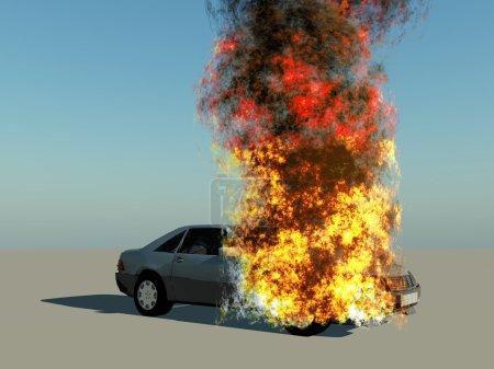 Explosion...