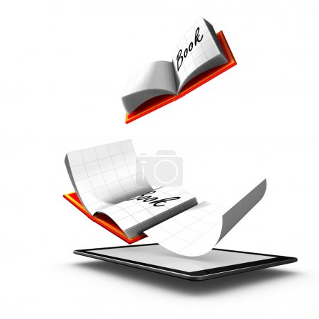E-Book:Book publication in digital form