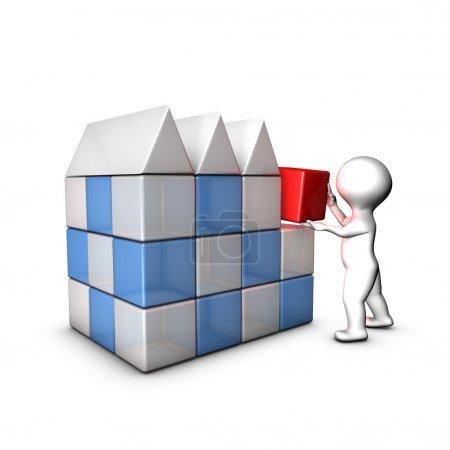 Photo pour Je crée mon entreprise grâce au business plan, plan marketing ... - image libre de droit