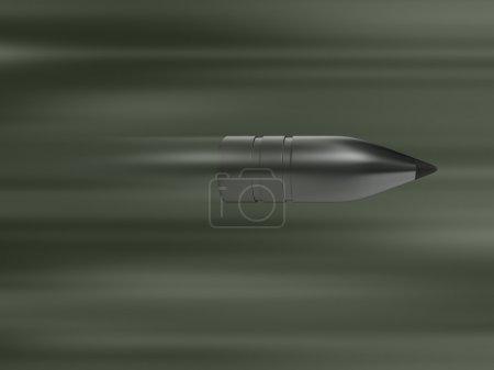 Fast silver bullet, gun shot, ammo, shooting