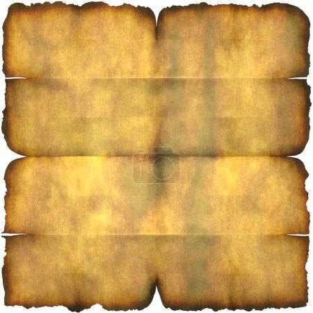 Burnt Parchment Paper