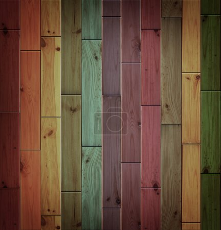 Colored wood parquet texture