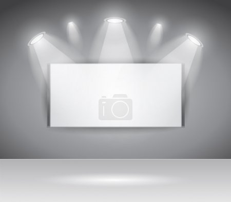 ShowRoom Panel for slogan exposition