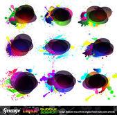 Grunge Bubble Speach Collection - Set 1